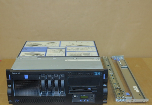 IBM System P5 520 4U Rack Server 9131-52A  2-Way 2.1GHz p5+ 8Gb 2x 73Gb 2x 146Gb